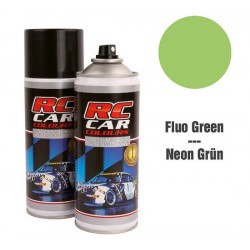 Vernice spray fluo green