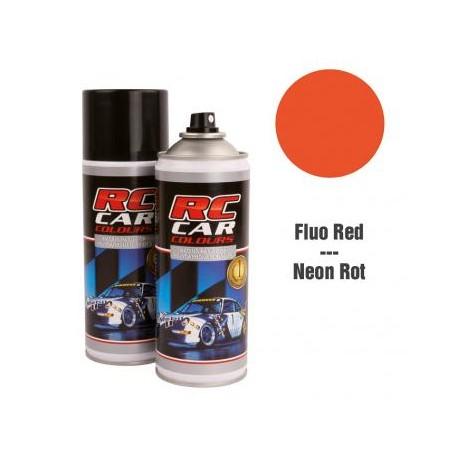 Vernice Spray Rosso Fluorescente