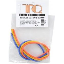 Kit filo calibro 1 da saldare giallo, arancione e blu