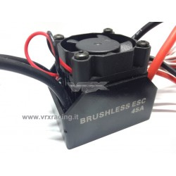 Regolatore Brushless Rocket esc 45A W ESC Sensrless
