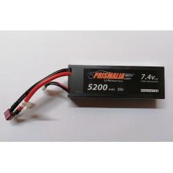 Batteria Lipo 7,4 5200 50c mAh PRISMALIA