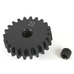 K-Factory pignone 22T M1 Foro 5mm in acciaio per elettrico.