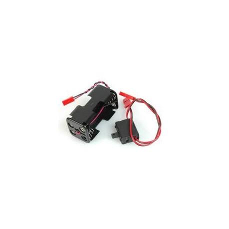 Porta batteria RX  Per 4 Batterie AA
