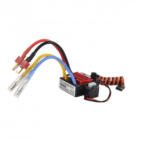 ESC 60 amp Water Prof Car 1-10 Brusched