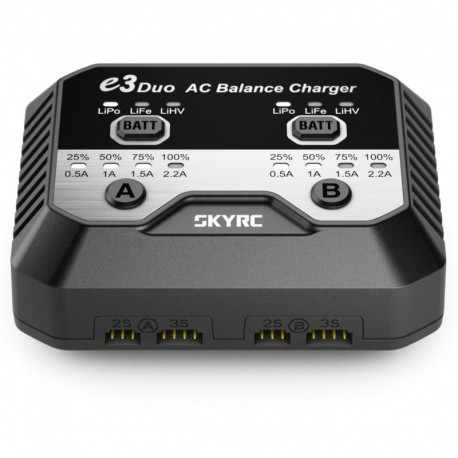 Carica Batteria SKY-RC E3 DUO AC  Professionale.