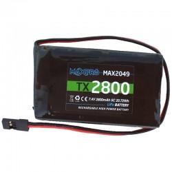 Batteria Lipo 2-S- 7,4V -2800mAh 5C