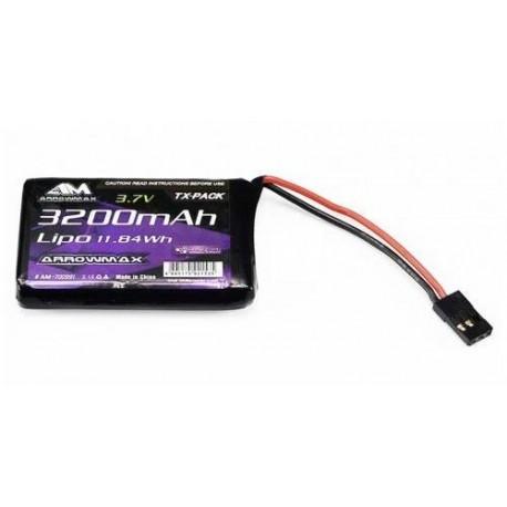 Batteria Lipo 7,4 3200 mAh ARROWMAX per MT-44