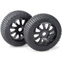 Gomme OFF-ROAD ABSIMA Cerchio nero 1-8 BUGGY