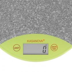 Bilancia Elettronica con Display LCD e superficie in Vetro Temperato