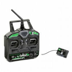 "Radio a 2 canali ABSIMA ""SR2S"" 2,4 GHz incl. Ricevitore"