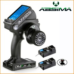 Radio ABSIMA CR3P AFHDS 2,4 GHz a 3 canali