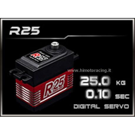 Servo  POWER-HD  High Voltage 25 Kg -  6- 7,4 volt