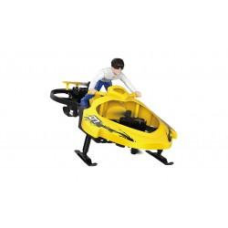 Amewi Extreme Air Cycle con braccio di controllo volume 2,4ghz, RTF, Giallo