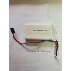 Batteria Lipo 2200 mAh 8-C per CZ1