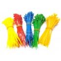 Fascette in Plastica Colorate Miste 500 pz