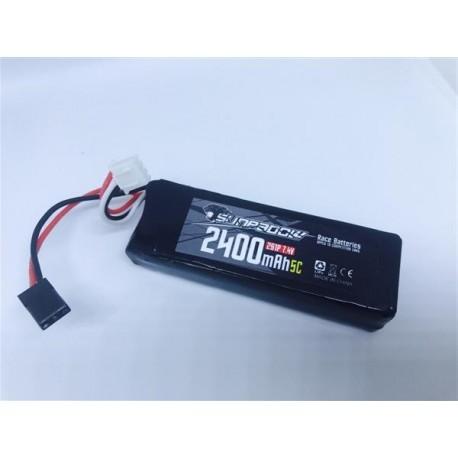 Batterie Lipo 2-s SUNPADOW 2400