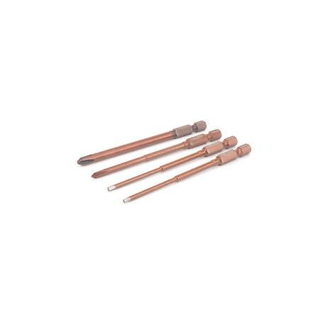 kit chiavi brucola -2-  2,5  - croce   x avvitatore